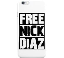 Free Nick Diaz iPhone Case/Skin