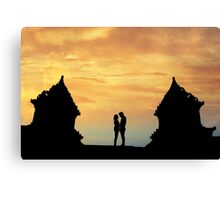 temple twin Canvas Print