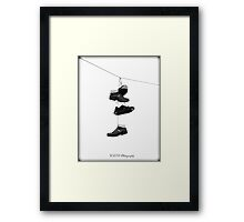 Boot That Was Made For Walking  Framed Print