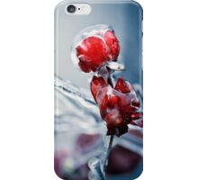 Iced roses 2 iPhone Case/Skin