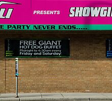 Free Giant Hot Dog Buffet by Mark Jackson