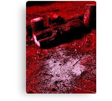 Treeline Bloodbath Canvas Print