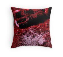 Treeline Bloodbath Throw Pillow