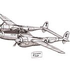 Lockheed P-38J by Steve's Fun Designs