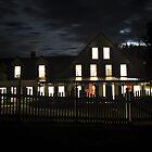 The Big House at Night by Sara Bawtinheimer