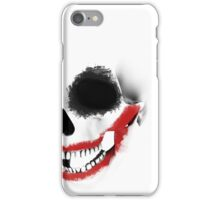 the smile of the skull iPhone Case/Skin