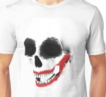 the smile of the skull Unisex T-Shirt