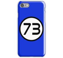 73 - The Best Number iPhone Case/Skin