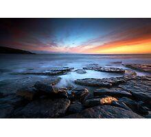 Southerndown Sundown Photographic Print