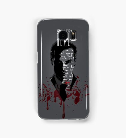 Moriarty Was Real (w/ text) Samsung Galaxy Case/Skin