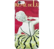 Leonetto Cappiello Affiche Crème de Luzy iPhone Case/Skin