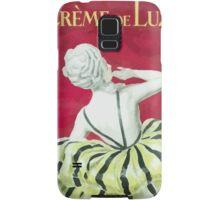 Leonetto Cappiello Affiche Crème de Luzy Samsung Galaxy Case/Skin