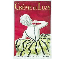 Leonetto Cappiello Affiche Crème de Luzy Photographic Print