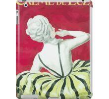 Leonetto Cappiello Affiche Crème de Luzy iPad Case/Skin
