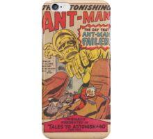 Ant Man Comic  iPhone Case/Skin