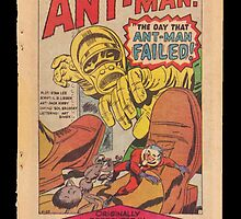Ant Man Comic  by blindsociety