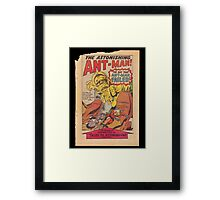 Ant Man Comic  Framed Print