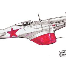 Yak-9D by dangerpowers123