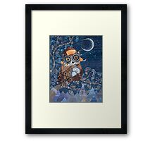 Night time dreamer Framed Print