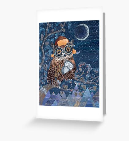 Owl mother Greeting Card