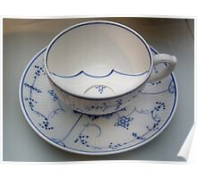 Chocolate cup for gentleman with moustache (read!) Poster