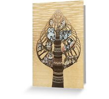 Owl's Hotel Greeting Card
