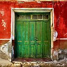 Green on Red by Hercules Milas