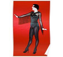 Portrait  of a Burlesque Artist Poster