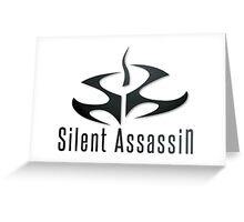 Hitman - Silent Assassin Greeting Card
