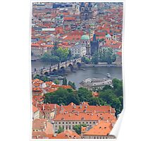 Charles Bridge From Afar Poster
