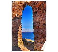 Through The Arched Window.. Poster