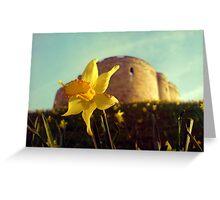 A daffodil for Clifford Greeting Card