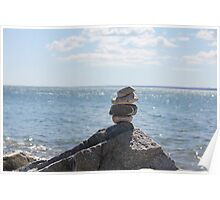 another rock stack Poster
