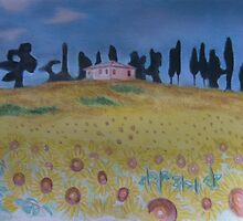Under a Tuscan Sun by Louise Griffiths