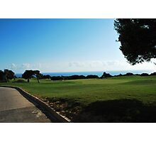Golfing in Cyprus Photographic Print