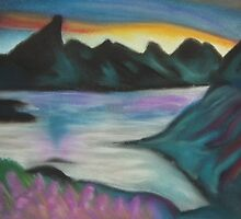 Dreaming of distant lands by Louise Griffiths