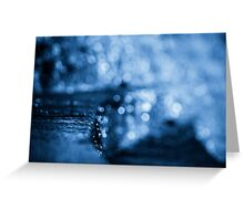 Bokeh Falls Greeting Card