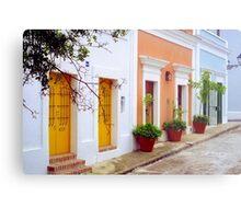Old San Juan Street, Puerto Rico Metal Print