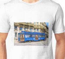 Vintage tram in Milano, ITALY Unisex T-Shirt