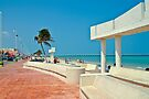 Malecon at Progreso by Yukondick