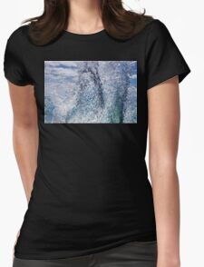 Summer wave Womens Fitted T-Shirt