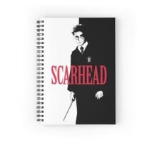 SCARHEAD Spiral Notebook