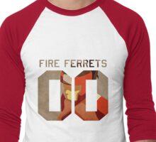 Fire Ferrets Korra Men's Baseball ¾ T-Shirt