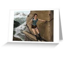 Tomb Raider Greeting Card
