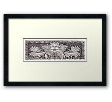 Aztek Guardian Framed Print
