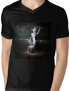 I've seen a ghost. Mens V-Neck T-Shirt