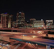 Downtown Orlando Skyline by Philtography