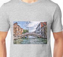 Under The Bridges Of Venice Unisex T-Shirt