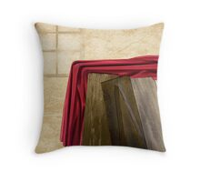 """Something Left Behind"" Throw Pillow"