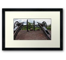 Cannons Framed Print
